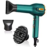 1875W Professional Salon Hair Dryer,Negative Ionic Blow Dryer for Fast...