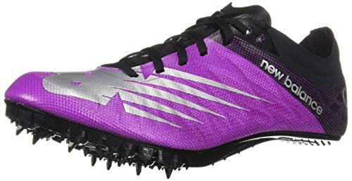 New Balance Women's Vazee Verge Sprint Spike V1 Running Shoe, Voltage Violet/Black, 7 B US