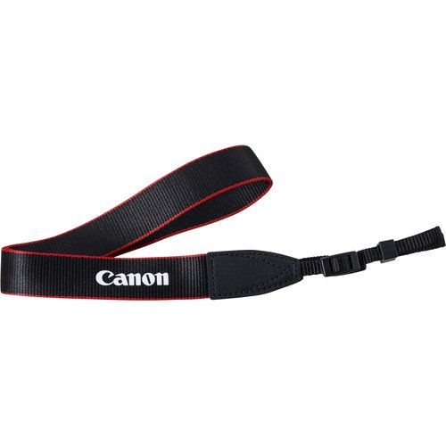 Canon Genuine Original OEM Red Neck Strap for Canon EOS and EOS Rebel Series DSLR Cameras EM-200DB