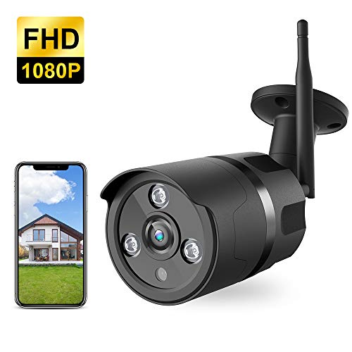 Outdoor Camera Wireless - 1080P WiFi Outdoor Security Camera, FHD Night Vision, A.I. Motion...