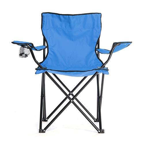 T-ara Suave y confortable 50x50x80cm acampa de la pesca portátil plegable asiento de la silla de playa jardín portátil de acampar al aire libre de picnic ocio herramienta de silla de playa establecido