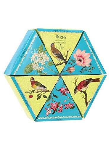 Tea Gift Set - Tea Selection of 6 x 8 Assorted Flavoured Tea Bags | Fruit Tea Selection Box Gift Set (Total of 48 Tea Bags)
