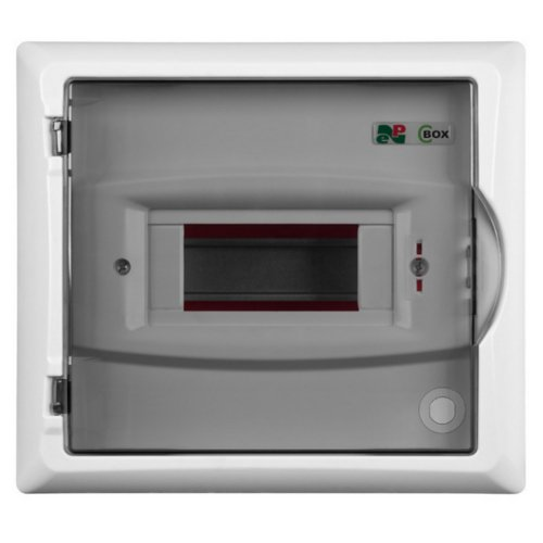 Sicherungskasten Kleinverteiler IP40 Unterputz 5 Module 1-reihig inkl. Hutschiene und PE-/N-Klemmen Control LUX-PLUS