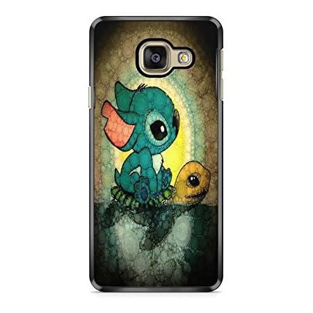 Coque Samsung Galaxy A5 2017 (Version A520) Lilo Stitch Tortue Love Ohana Citation Disney Case Swag REF11738