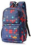 Chop your ya Mochila bolsa de cinta reflectante de gran capacidad de la bolsa mochila de grado 2-5th del muchacho, escuela de diseño de peso ligero Chop your ya (Color : 5)