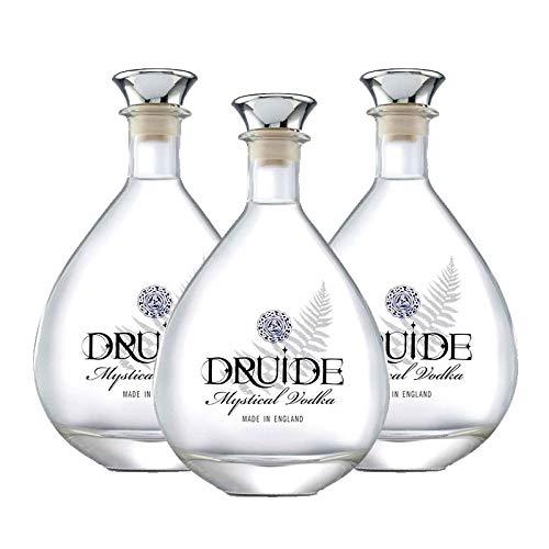 Vodka Druide de 70 cl - Inglaterra - Bodegas de Gonzalez Byass (Pack de 3 botellas)