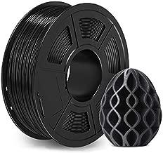Carbon Fiber PLA 3D Printer Filament - 1.75mm Carbon Fiber Filament, 1kg(2.2lbs) PLA 3D Filament for 3D Printer 3D Pen, Dimensional Accuracy +/- 0.02mm, Carbon Fiber PLA