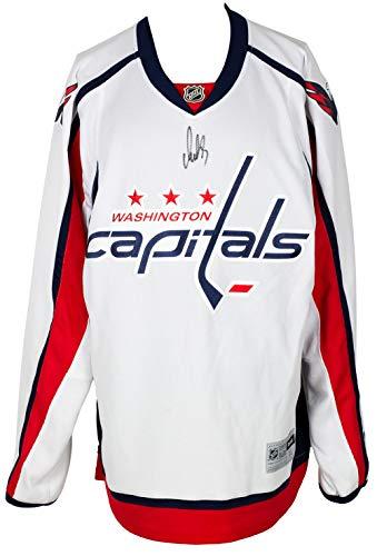 Alexander Ovechkin Signed Washington White Hockey Jersey BAS