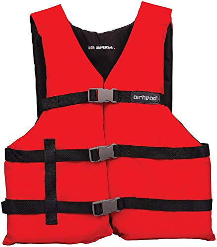 AIRHEAD General Purpose Adult Vest, Red