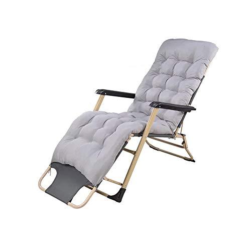 YQQ-Chaise pliante Coton Perlé Lit Pliant Heure du Déjeuner Fauteuil De Repos Petit Lit De Camp 178 * 76 * 66CM