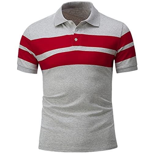 N\P Camiseta casual de verano para hombre