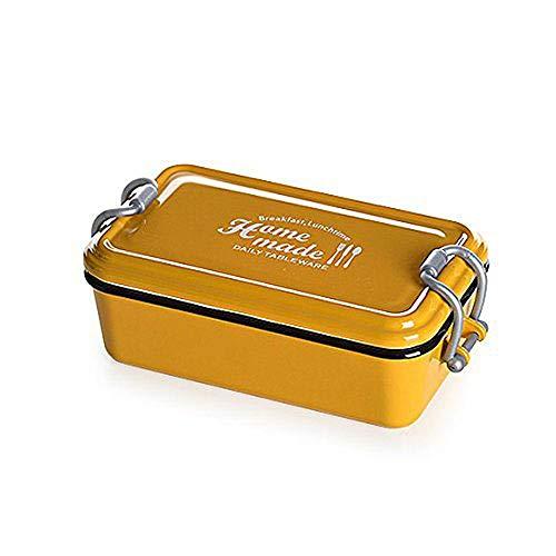 サブヒロモリ 弁当箱 1段 イエロー 幅17.8×奥行9.7×高さ6.5 1段 163715
