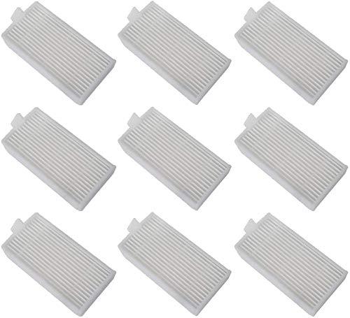 Poweka Filter für Medion MD 18500 MD 18501 MD 18600 MD 16192 Roboter Staubsauger - HEPA Ersatzfilter für Saugroboter 9pcs