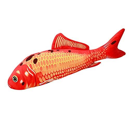 A-myt es Fuerte y Duradero Simulación Preciosa Almohada de Pescado Pesca de Peluche Pescado Pet Pet BUPS Mucha CUJIZACIÓN ALIMENTACIÓN Pet Pet Plush Toy Hermoso Resumen (Size : L)
