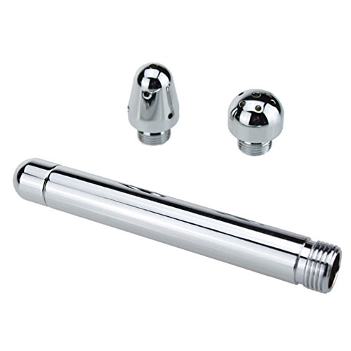 Wildlead 3Shower Head Aluminum Enema Flush Tools For Adults Nozzle Shower Backyard colonic douche Cleaner