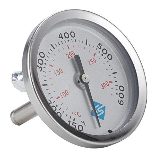 harayaa Termómetro de Acero Inoxidable para Horno, Parrilla para Barbacoa, Temperatura para Hornear, Termómetros de Calibre