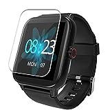 Vaxson 3 Stück Schutzfolie, kompatibel mit Blackview R3 Pro Smartwatch smartwatch, Displayschutzfolie TPU Folie [ nicht Panzerglas ]