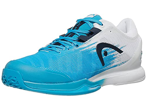 HEAD Sprint Pro 3.0 Men OCWH, Zapatillas de Tenis Hombre, Ocean Blue White, 42.5 EU