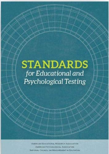 Compare Textbook Prices for Standards for Educational and Psychological Testing  ISBN 9780935302356 by American Educational Research Association,American Psychological Association,National Council on Measurment in Education