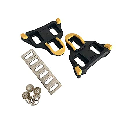 Thinvik Road Bike Cleats 6 Degree Float Self-Locking Cycling Pedals Cleat for Shimano SH-11 SPD-SL System Shoes