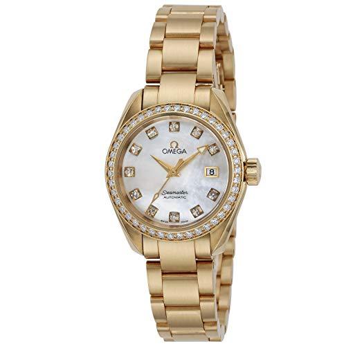 [オメガ] 腕時計 シーマスター アクアテラ 2165.75 レディース ゴールド [並行輸入品]