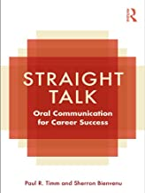 Straight Talk: Oral Communication for Career Success