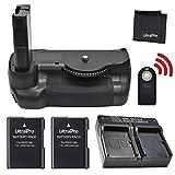Battery Grip Bundle F/Nikon D5600: Includes Vertical Battery Grip, 2-Pk EN-EL14a Long-Life Batteries, Rapid Dual Charger, UltraPro Accessory Bundle