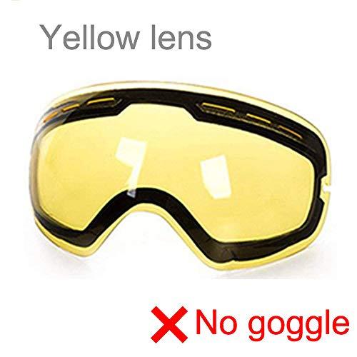 ZKAMUYLC Skibril Ski Goggles Photochromic Clear Skibril Bescherming Snowboard voor alle weersomstandigheden