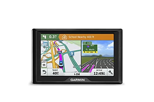 Garmin Drive 51 USA LM GPS Navigator System with Lifetime Maps,...