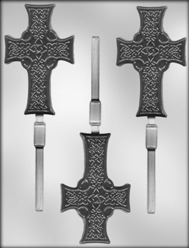 CK Products 4' Celtic Cross Sucker Choc Mold