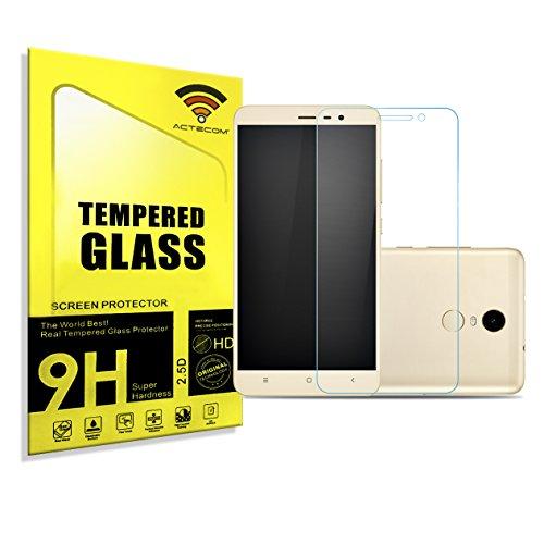 actecom® Protector Pantalla para XIAOMI REDMI Note 3 / REDMI Note 3 Pro 2.5D 9H Cristal Vidrio Templado
