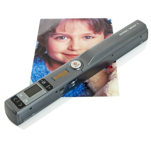 : Vupoint Magic Wand II 2 Portable Scanner with 1-Inch Color LCD Display (Pewter) : Document Scanners