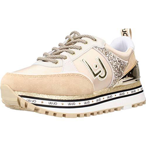 LIU JO Maxi Wonder 20 Sneaker Running Glitter Milk BA1063PX137