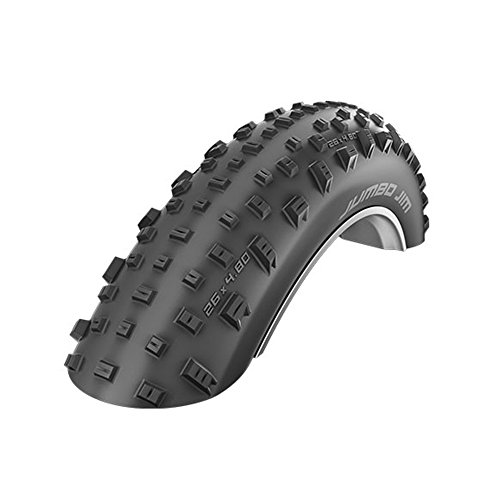 SCHWALBE Jumbo Jim Evolution LiteSkin Folding Tire, 4.0 x 26, Black