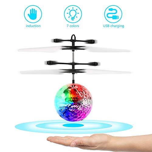 FEALING RC Flying Ball, avión de Juguete, helicóptero de i