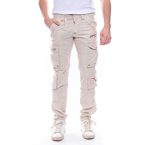 Ritchie - Pantalon Battle Calel - Homme - 46 - Beige