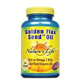 Nature's Life Golden Flax Seed Oil | 90 ct