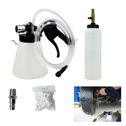 Hengda® Druckluft 90-120 psi Bremsenentlüftungsgerät Nachfüllflasche 1L Wechseln Bremsen KFZ Werkzeug