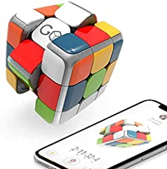 GoCube is an award-winning smart app-enabled Rubik's cube that connects to your phone/tablet and tracks your moves in real time. Finally, everyone CAN do the cube! Learn together how to solve it in a fun and interactive way, play games and battle onl...