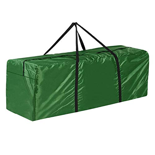 shuaiyin Garden Furniture Cushions Storage Bag Waterproof Lightweight Pouch, Outdoor Patio Seat Pads Carry Handbag, 210D oxford Organizer Bags | 122x38x55cm/48.0x15.4x21.7''
