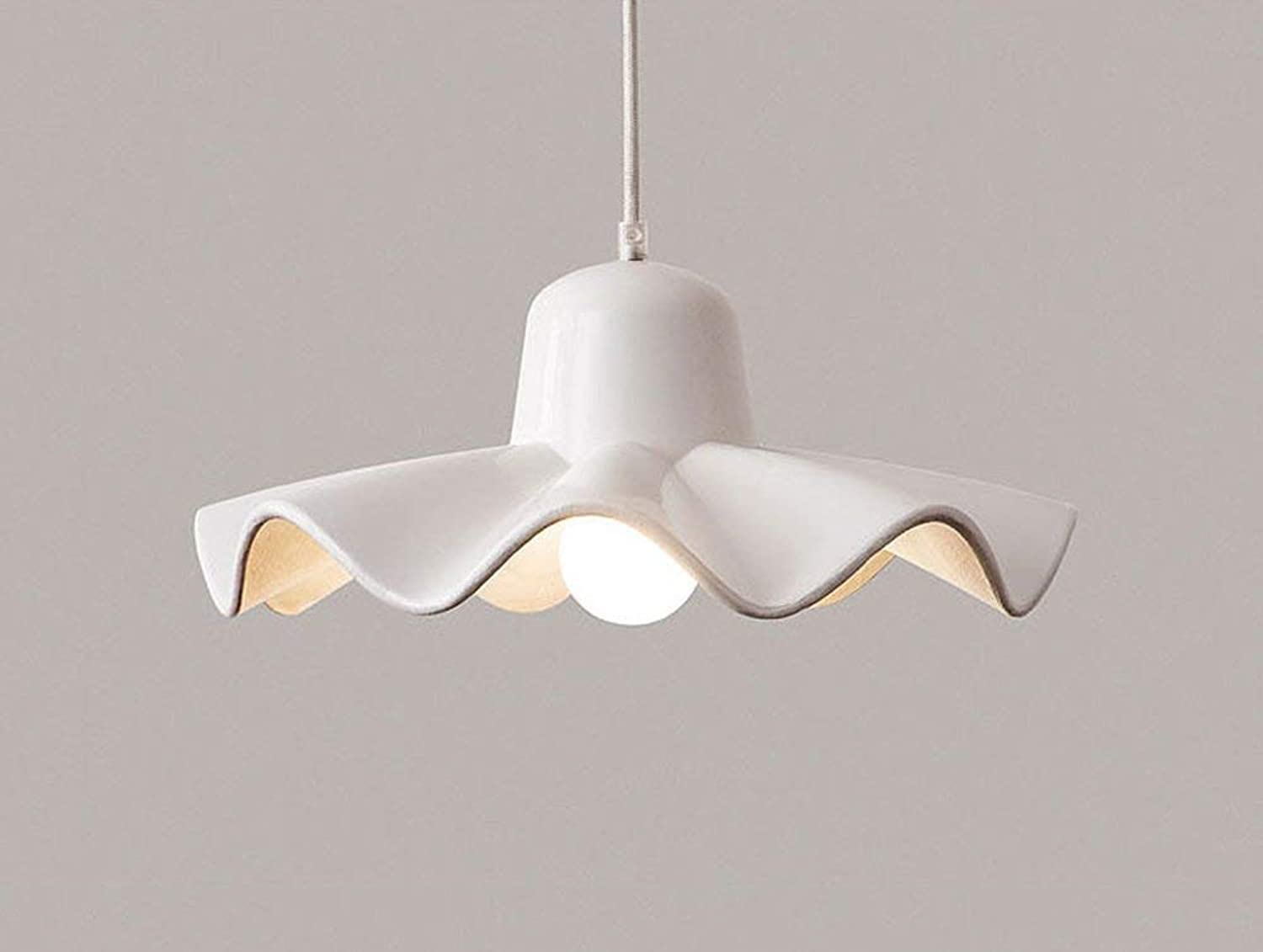 Perfect Home Simple Modern Chandelier Northern Europe Living Room Restaurant Bedroom Bar E27 (color   White, Size   36  16cm) Durable