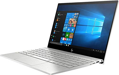 Product Image 1: 2020 HP Envy 13.3″ 4K Ultra HD Touch-Screen Laptop 10th Gen Intel i7-1065G7 8GB DDR4 Memory 512GB SSD WiFi 6 Bluetooth 5.0 Weigh 2.6 lbs. Natural Silver