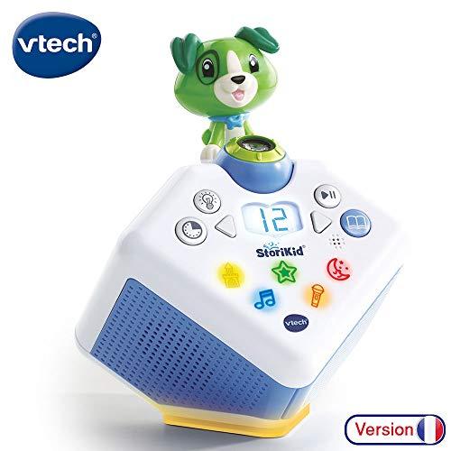 VTech - StoriKid – Mon conteur d'histoires vert, boîte à histoires enfant avec projection