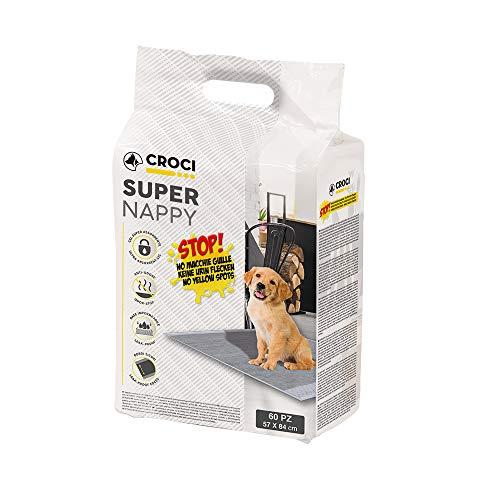 Croci Tappetino Super Nappy Carboni Attivi 84X57 60Pz