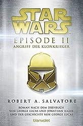 Star Wars Bücher Episode II Angriff der Klonkrieger
