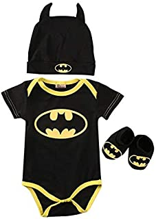 Batman superhero bodysuits & Onesies For Boys