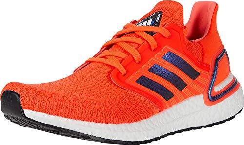 Adidas Ultraboost 20 - Zapatillas de hombre, Rojo (Solar rojo/Boost azul violeta metálico/blanco), 41.5 EU