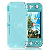 [Updated] Fyoung Soft TPU Cover Case for Nintendo Switch Lite, Clear Protective Grip Case for Nintendo Switch Lite 2019