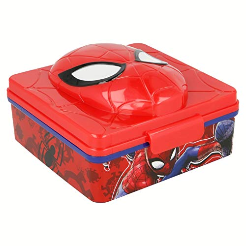 SPIDERMAN Sandwichera 3D
