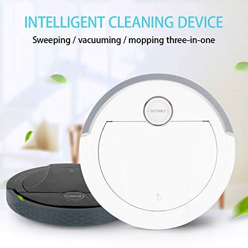 Jesaisque Robot Vacuum Cleaner - White
